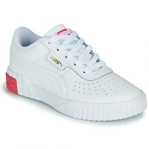 Puma Cali PS, Baskets Fille, White-Omphalodes, 30.5 EU