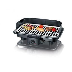 Severin 2794 - Gril barbecue avec plaque revêtue 2500 W
