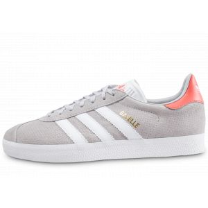 Adidas Baskets/Tennis Gazelle Grise Et Rose Homme