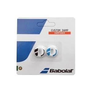 Babolat BébéLAT CUSTOM DAMP2 Antivibratoire (lot de 2) Bleu Taille Unique