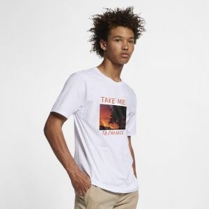 Image de Nike Tee-shirt Hurley Premium Take Me to Paradise pour Homme - Blanc - Taille S - Male