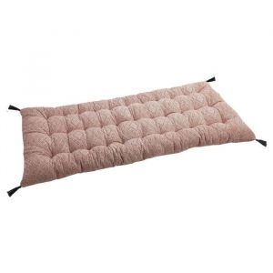 Deko and Co Matelas de sol imprimé - Bloom - 60x120cm - Rose