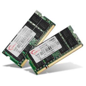 G.Skill F3-8500CL7D-4GBSQ - Barrettes mémoire Standard 2 x 2 Go DDR3 1066 MHz CL7 204 broches