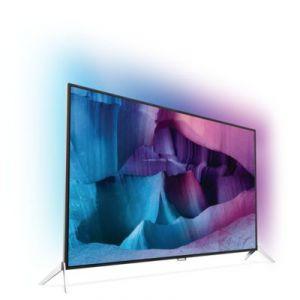 Philips 65PUS7600 - Téléviseur LED 4K 3D 164 cm Ambilight XL Smart TV
