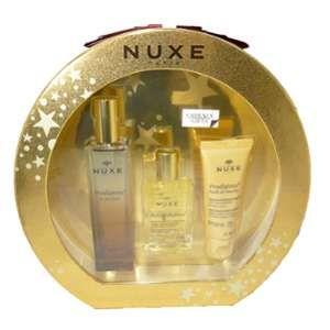 Nuxe Prodigieux - Coffret eau de parfum, huile prodigieuse et douche précieuse parfumée
