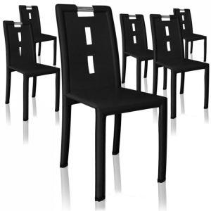 menzzo handle 6 chaises de salle manger comparer avec. Black Bedroom Furniture Sets. Home Design Ideas