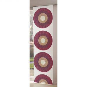 Panneau japonais cercle Arigato en polyester (60 x 300 cm)