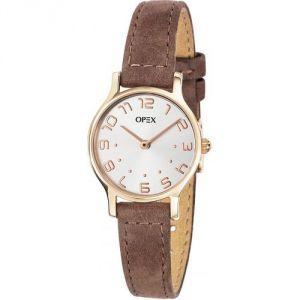 OPEX Paris X4076LA1 - Montre pour femme avec bracelet en cuir