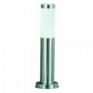 Globo Boston borne luminaire extérieur inox - Ampoule LED incluse inox 8,5W 230V