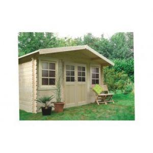 Solid S8384CR0 - Abri de jardin Dole en bois 28 mm 10 m2
