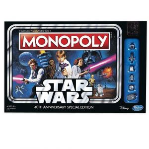 Hasbro Monopoly Star Wars 40 Ans