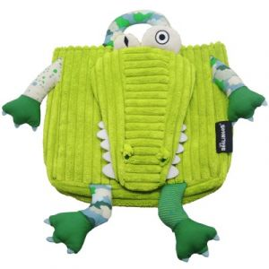 Les Déglingos Sac à dos Aligatos l'alligator