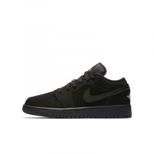 Nike Chaussure Air Jordan 1 Low Enfant - Noir - Taille 36