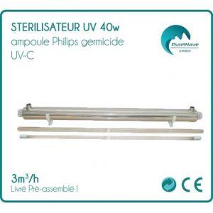 Desineo Stérilisateur UV 40w ampoule Philips -