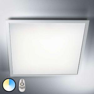 Osram Applique / Plafonnier Ultra Plat LED Planon Plus - Montage en surface - 30W Equivalent 180W - 60 x 60cm - Télécommandable du blanc chaud au blanc froid