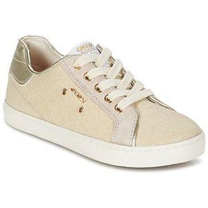 Geox Jr Kiwi B, Sneakers Basses Fille, Beige (Beigec5000), 34 EU