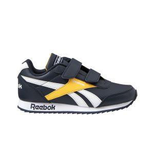 Reebok Chaussures sport marine à double scratch. Bleus - Taille 33