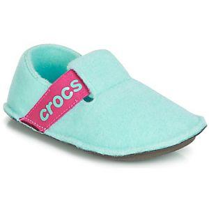 Crocs Chaussons enfant CLASSIC SLIPPER K - Couleur 28 / 29,30 / 31,24 / 25,19 / 20,23 / 24,27 / 28,29 / 30 - Taille Bleu