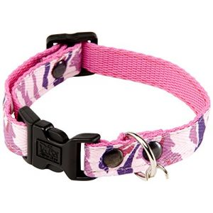 Martin Sellier Collier pour Chien Camouflage 15 mm Taille S Rose