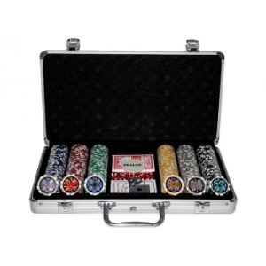 Makant Mallette de Poker (300 jetons)