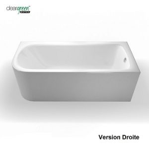 Clearwater Baignoire Dangle Cleargreen Viride 180 Cm Version