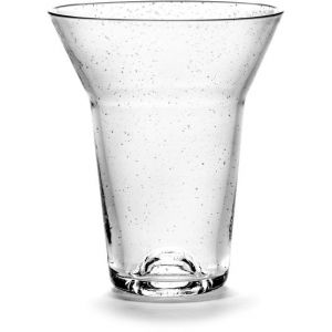 Serax Verre Medium / Ø 9 x H 11 cm transparent en verre
