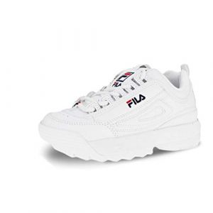 FILA Chaussures enfant DISRUPTOR KIDS blanc - Taille 28,29,30,31,32