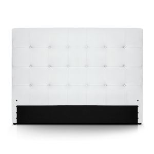 tete de lit capitonnee 160 blanc comparer 63 offres. Black Bedroom Furniture Sets. Home Design Ideas