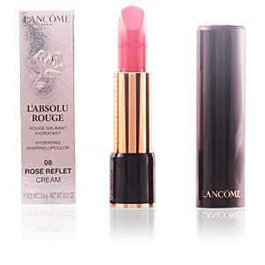 Lancôme L'Absolu Rouge : 08 Rose Reflet - Rouge galbant hydratant