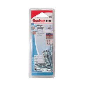 Fischer 26258 - Cheville métallique + crochet droit Ø 5 x 37 mm Par 4