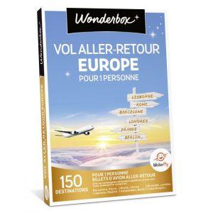 Wonderbox Vol Aller-Retour Europe - Coffret cadeau