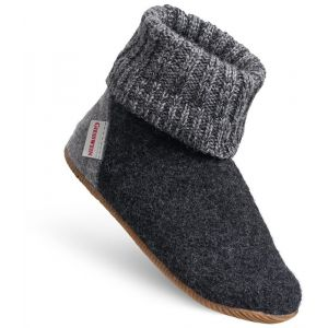 Image de Giesswein Wildpoldsried, Chaussons Montants Mixte Enfant, Gris (Anthrazit 019), 34 EU
