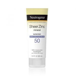 Neutrogena Sheer Zinc Dry Touch - Ecran Solaire - 88 ml - SPF 50