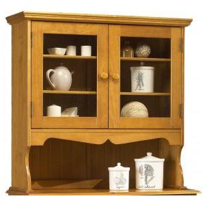 Haut de vaisselier à 2 portes vitrées style anglais - Comparer avec ... 0e868e5891e4