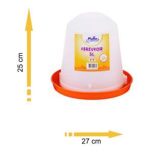 Plume & compagnie Abreuvoir plastique 5 L