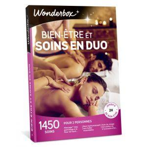 Wonderbox Bien-être et soins en duo - Coffret cadeau 1450 soins