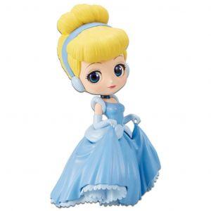 Disney Interactive Studios Disney- Figurine Q Posket- Robe de Princesse- Cendrillon- 14cm