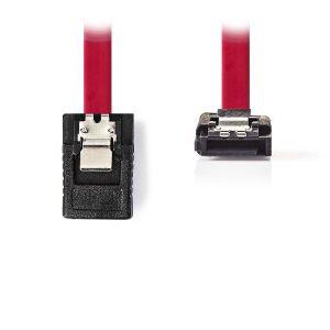 Nedis Câble SATA coudé avec verrou (50 cm)