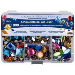 """C.Kreul Assortiment de pierres fantaisie """"Multicolore"""", 1000 pièces"""
