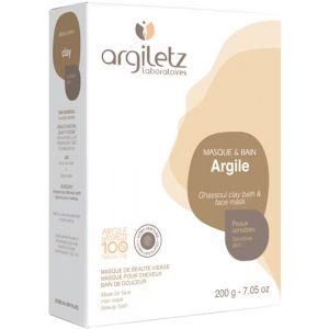 Argiletz Argile ghassoul ultra ventilée, 200 g