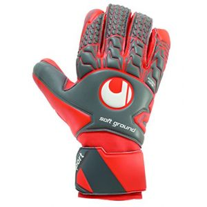 Uhlsport Gants de gardien de but de football Aerored Soft HN - 10.5