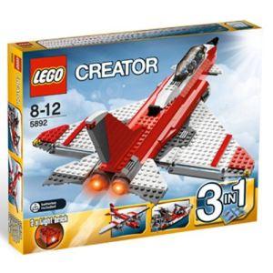 Lego 5892 - Creator 3 en 1 : L'avion supersonique