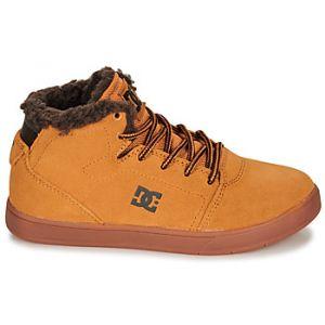 DC Shoes Baskets montantes enfant CRISIS HIGH WNT Marron - Taille 36,37,38,39,32,33,34,35