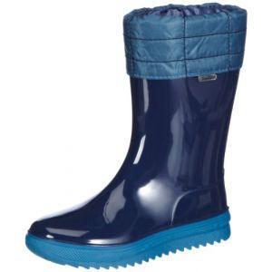 Romika Cosmos 01 Bottes de Pluie en PVC pour Enfant Multicolore - Bleu - 594°Marine-Petrol, 33 EU
