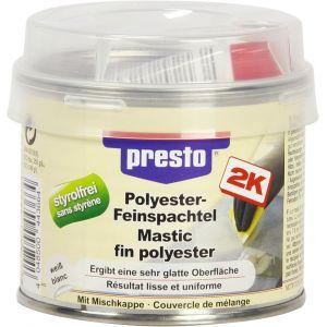 Presto Mastic fin polyester avec durcisseur 250 g