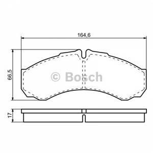 Bosch 4 plaquettes de frein 0986424833