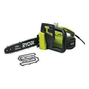 Ryobi RCS18352C - Tronçonneuse électrique 1800W + 1 chaîne de rechange
