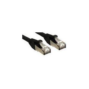Lindy 45600 - Câble réseau patch cat.6 S/FTP PIMF Premium sans halogène 0,3m