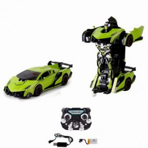 Chictech Robot voiture transformable Justice Fighter