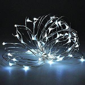 Guirlande LED USB 5V 10m - couleur eclairage : Blanc Froid 6000K - 8000K
